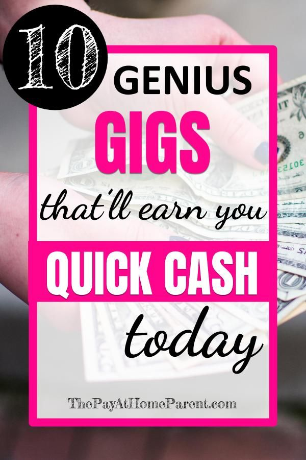 How to Get Quick Cash When You're in a Pinch (The Legal Way) – Work From Home