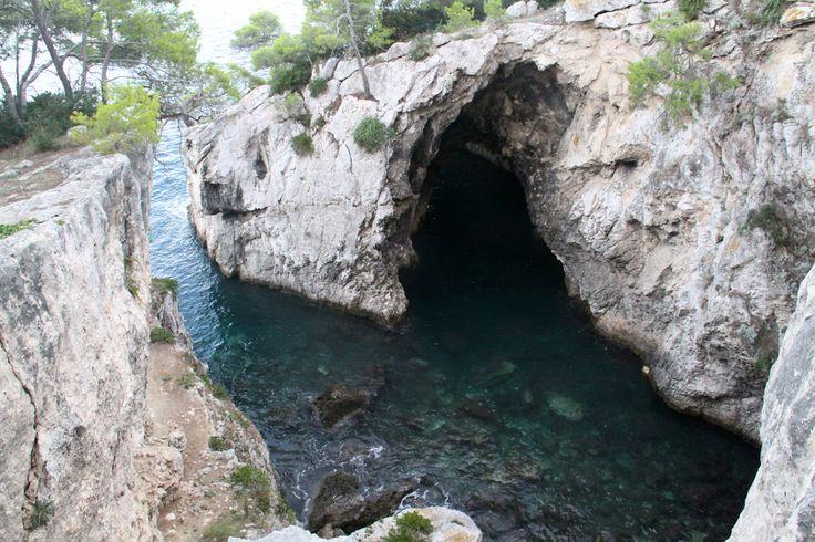 Isola di San Domino: grotta delle Viole
