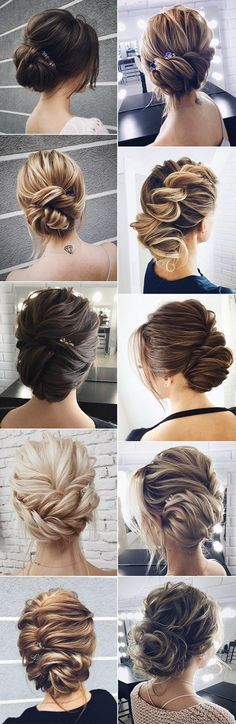 Amazing Updo Wedding Hairstyles from Lena Bogucharskaya