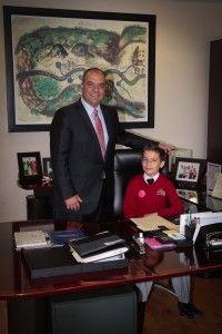 """""""Los anhelos se pueden transformar en esperanzas"""": Niño Presidente Municipal"""