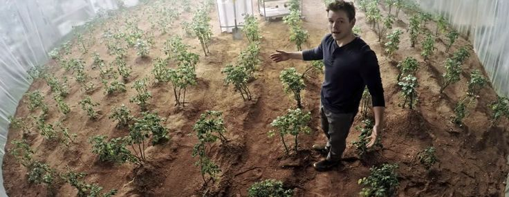Matt Damon as 'Mark Watney' in The Martian (2015)
