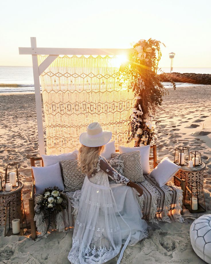 beach wedding in new jersey%0A GypsyLovinLight Boho Bride