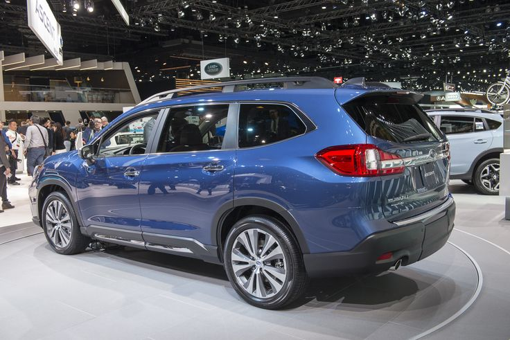 Finally, Subaru introduces a 3-row SUV - their largest product to date - available with choice of seven or eight passenger configurations and a release date of early Summer 2018. The new Subaru SUV finds an all-new turbocharged 260-hp BOXER engine and 5,000 lb. maximum towing capacity.