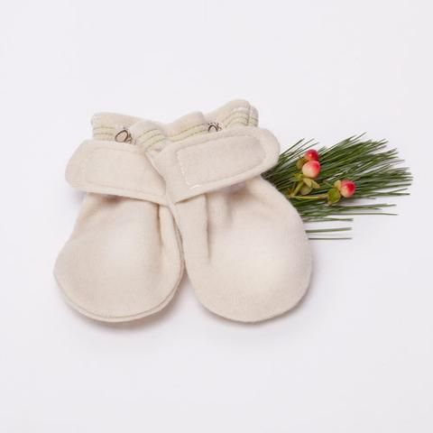 Merino Wool Baby Mitts
