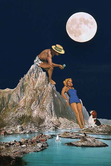 Fullmooners By Eugenia Loli