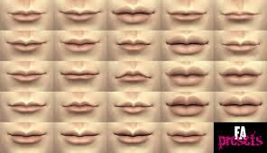 Image result for types of lip shapes