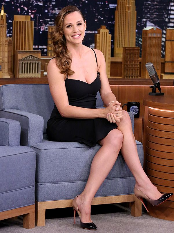 Jennifer Garner Tonight Show Jimmy Fallon Oscars 2016