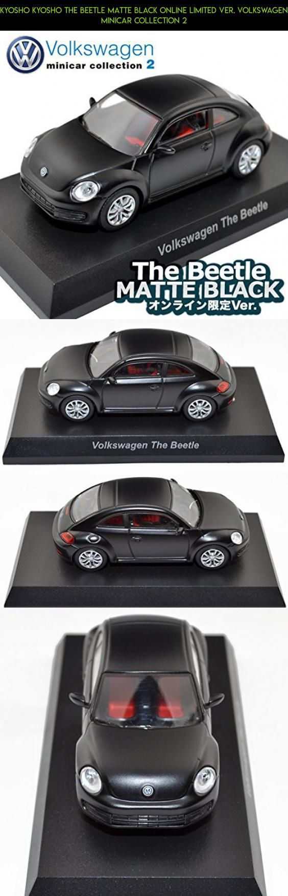 Kyosho kyosho the beetle matte black online limited ver volkswagen minicar collection 2 kyosho