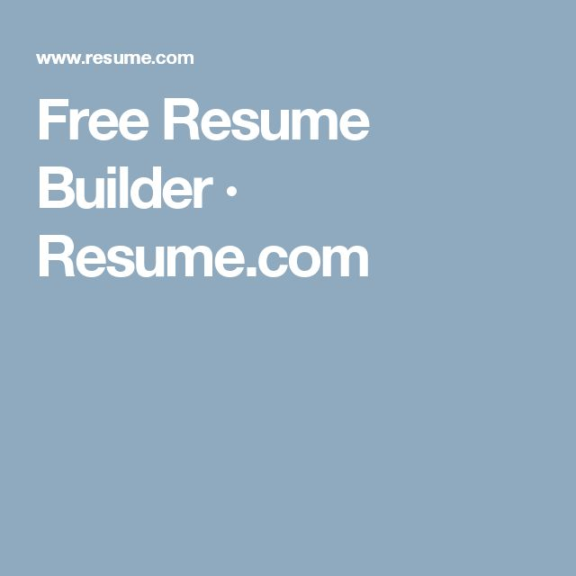 Best 25+ Online resume builder ideas on Pinterest Free resume - quick resume maker