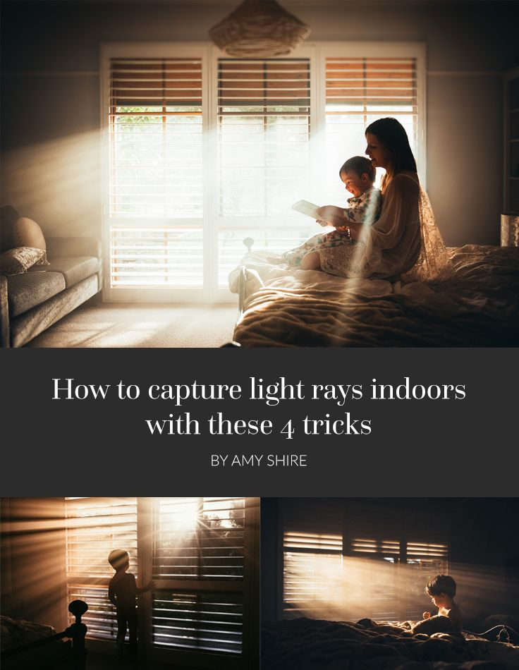 Long before I called myself a photographer, I was struck by the beauty of light seeping into buildings. But how can we capture that light at home?