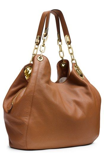 MICHAEL Michael Kors 'Large Fulton' Leather Tote | Nordstrom