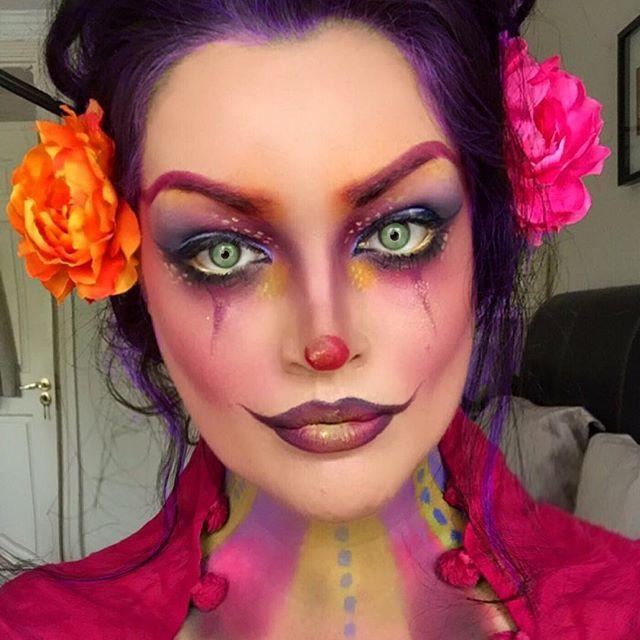 #clownmakeup #clown #makeup #amazingmakeupart #undiscovered_muas…