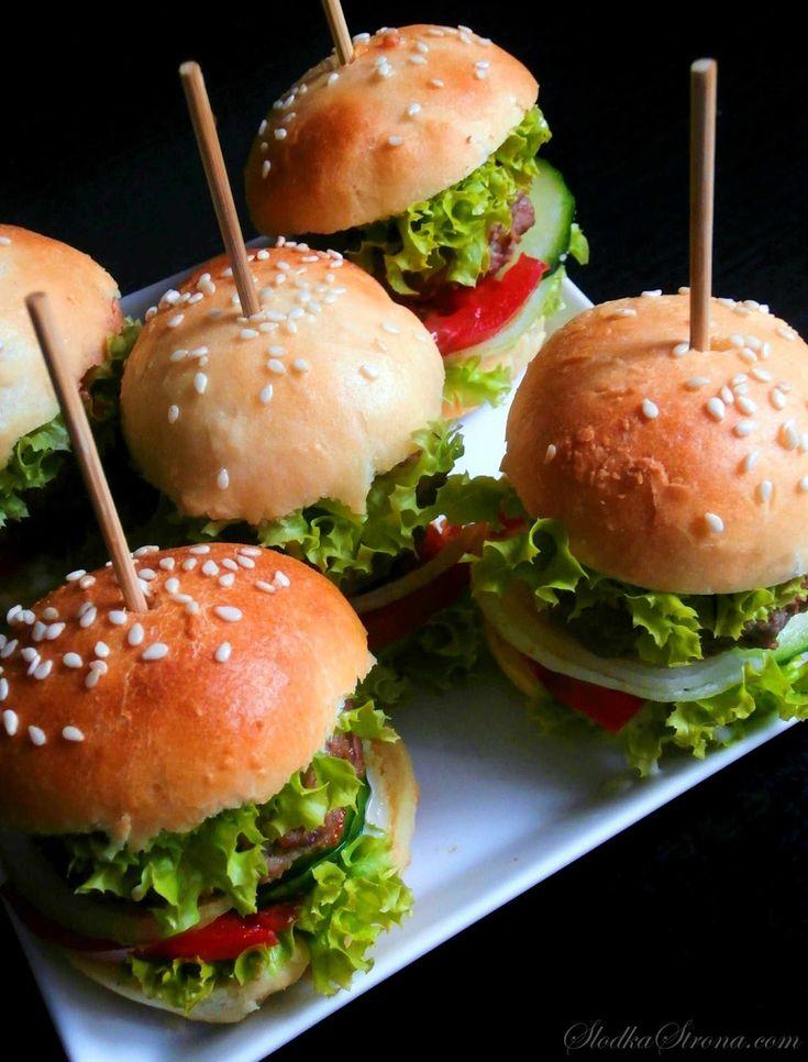 Słodka Strona: Mini Hamburgery