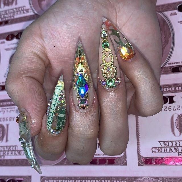 40 Stunning Manicure Ideas for Short Nails 2020 - Short Gel Nail Arts