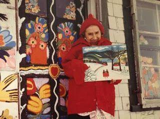 Di tutto e di più sulla Sardegna di Giurtalia e tanto altro ancora.: Maud Lewis la pittrice più amata nel Canada - La s...