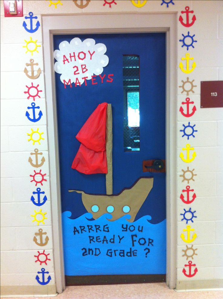 Nautical/pirate themed classroom