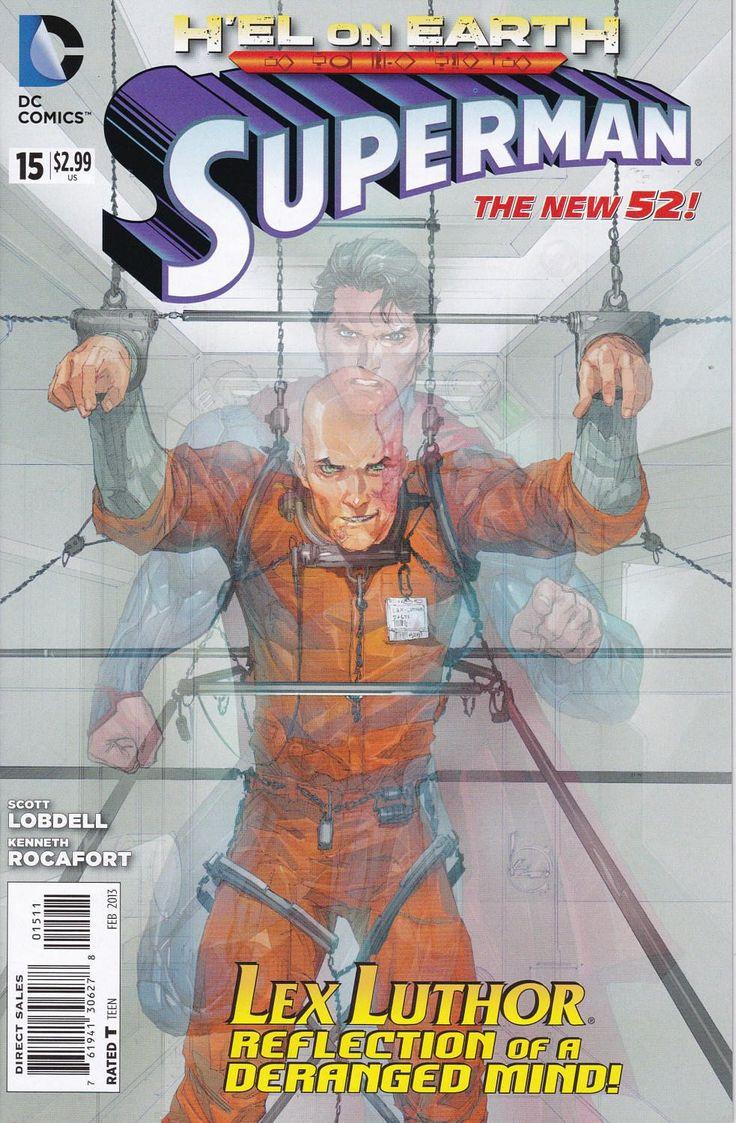 Superman #15 - Lex Luthor Reflection of a Deranged Mind! - DC Comics - Grade NM