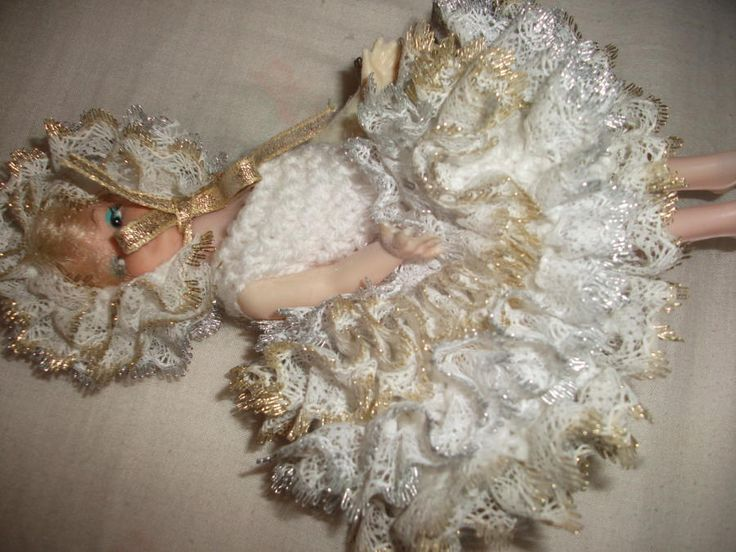 Knit in Lace Doll - Knitting creation by mobilecrafts | Knit.Community