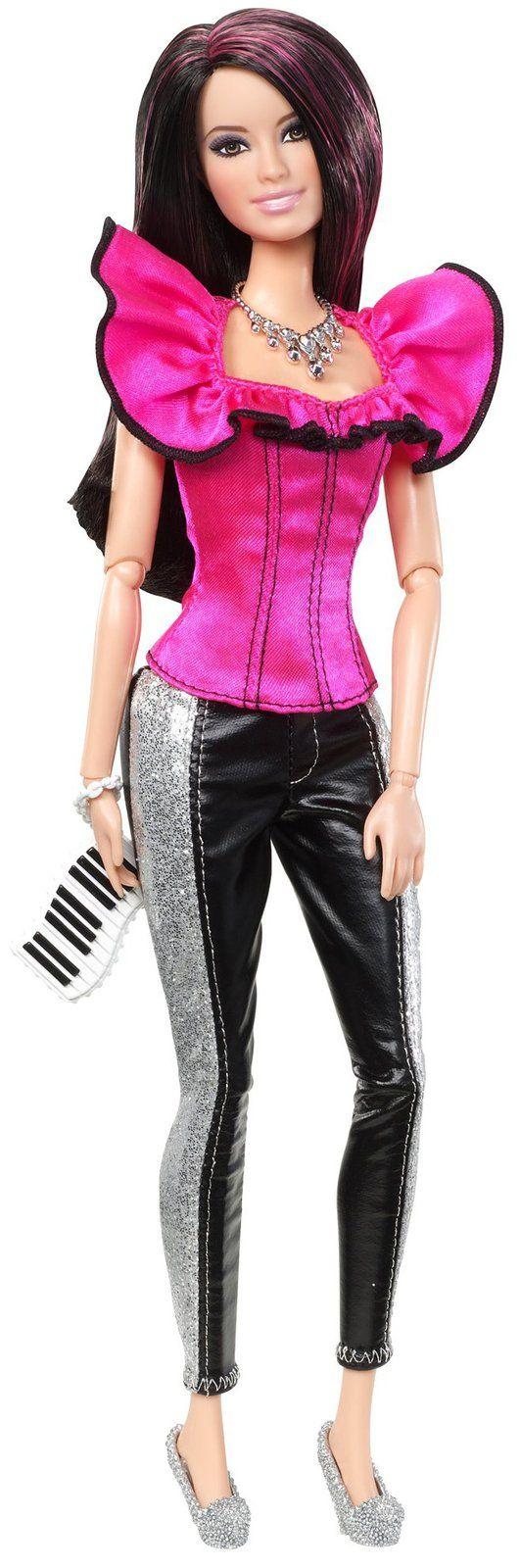 Mattel Barbie Fashionistas Doll - Raquelle - Free Shipping