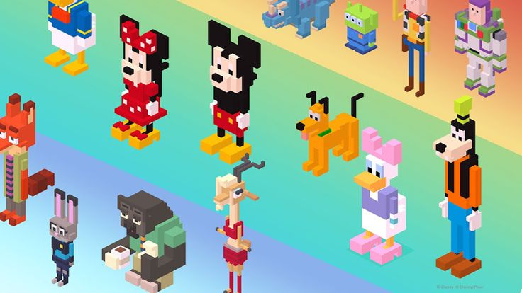 Cómo desbloquear todos los personajes misteriosos y secretos de Disney Crossy Road - http://www.androidsis.com/desbloquear-todos-los-personajes-misteriosos-secretos-disney-crossy-road/
