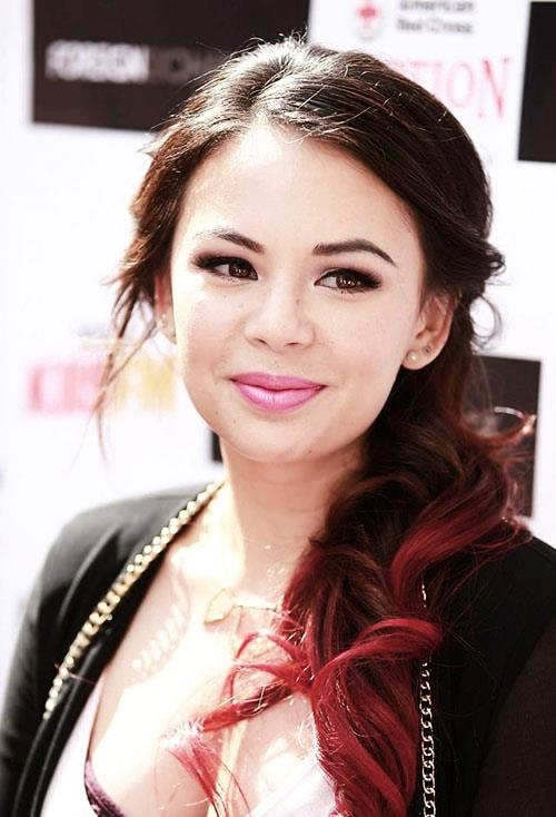 Janel Parrish - love her hair Color ...I think Die my hair like that