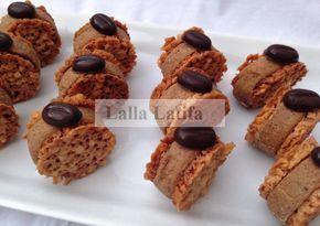 Les secrets de cuisine par Lalla Latifa - Gâteau praliné-nougat au Thermomix