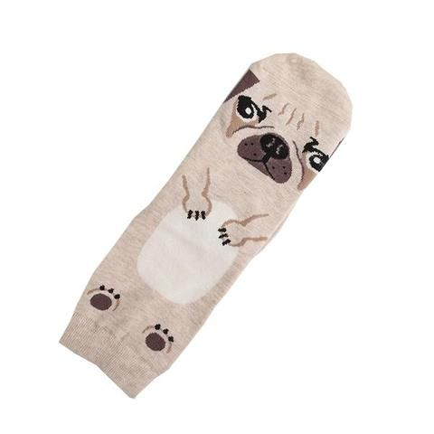 Unisex Cotton Socks For Pug Lovers
