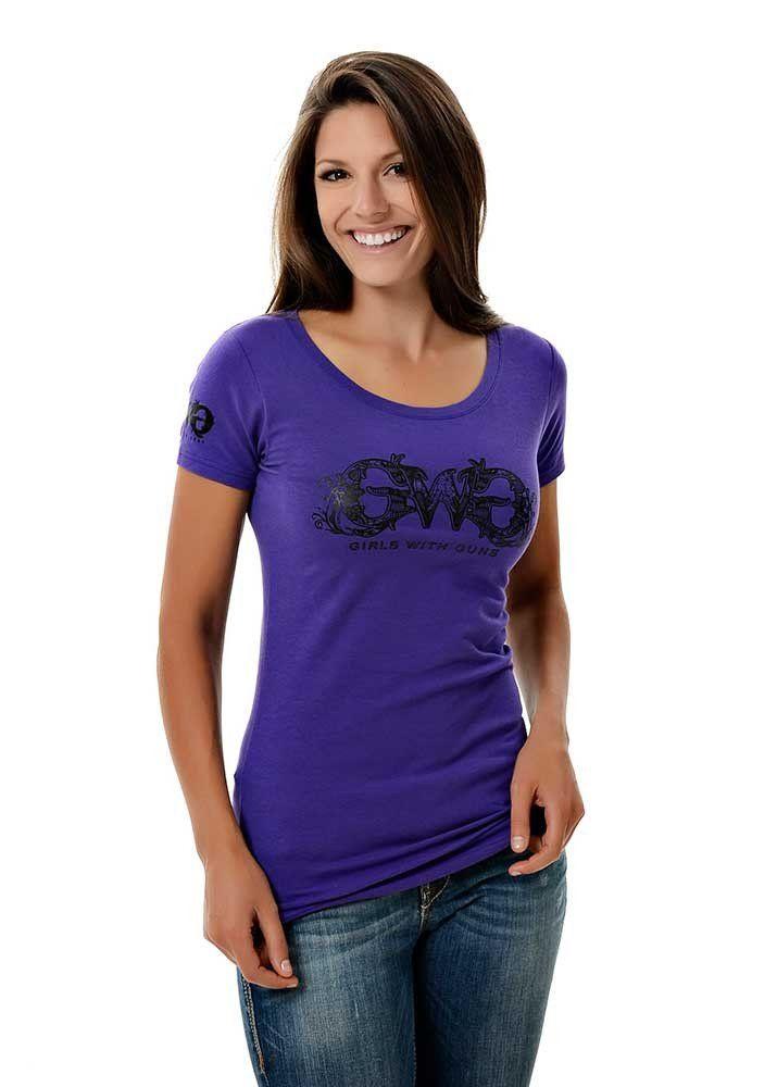 Women's GWG Basic Purple Tee