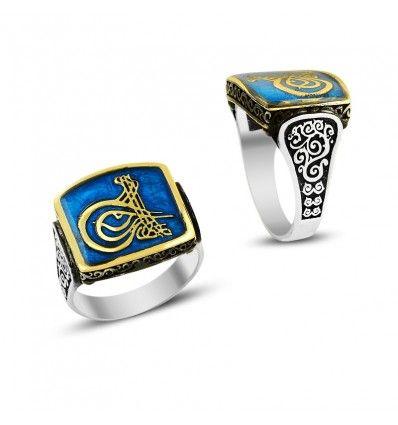925 Ayar Kaptan-ı Derya Erkek Gümüş Yüzük #erkek #takı #yüzük #tuğra #avcılar #istanbul #gümüş #adana #mersin #izmir