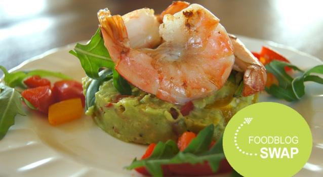 Foodblogswap: Garnalen met Avocado en Paprika