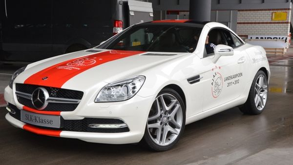 The special edition Ajax Amsterdam Mercedes