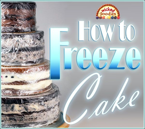 It's a myth that freezing cakes is bad. In fact the opposite is true because every extra unnecessary day that a cake sits in a refrigerator results in a staler product. The same goes for bread,