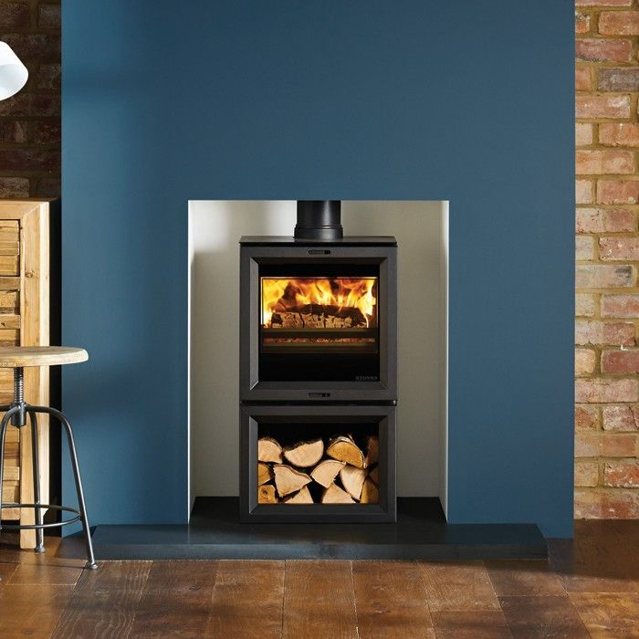 Stovax View 5 Midline Wood Burning Stove - All Stoves - Stoves Are Us