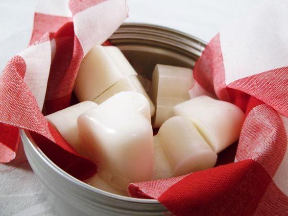Bloquecitos formas de cera de soja para aromatizar tu hogar, para hornillos
