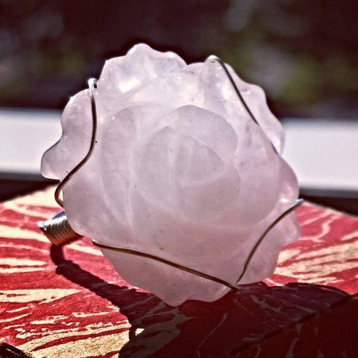 #rose #кольцо # размер #18 #розовый #кварц #юговосточная #азия #украшения #совсего #света #всему #миру #почтой #ekaterinburg # ювелирный сплав #mail #world #открывай #себя #olgajw