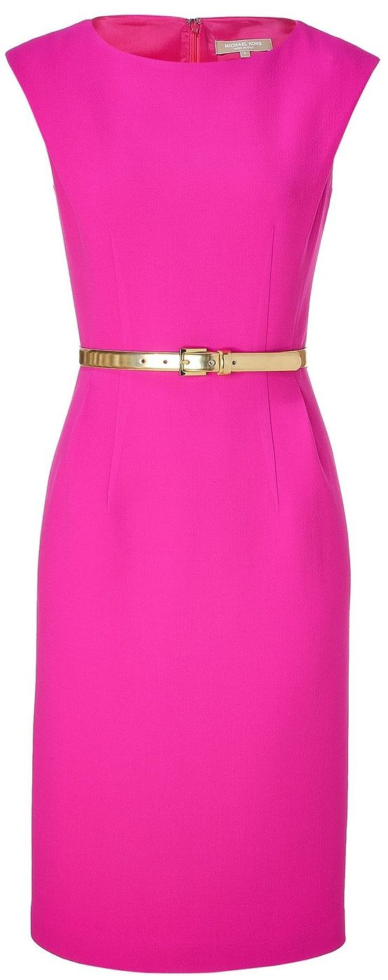 modest simple dress in great color!