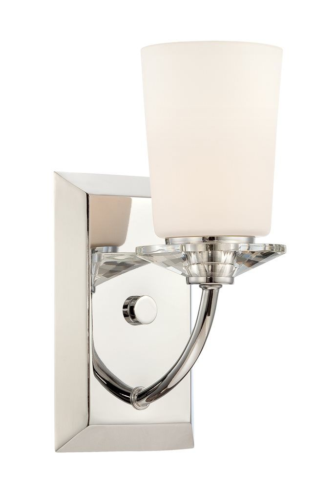 South Shore Decorating: Designers Fountain 84201-CH Palatial Transitional Wall Sconce DF-84201-CH for short wall in master tub area.