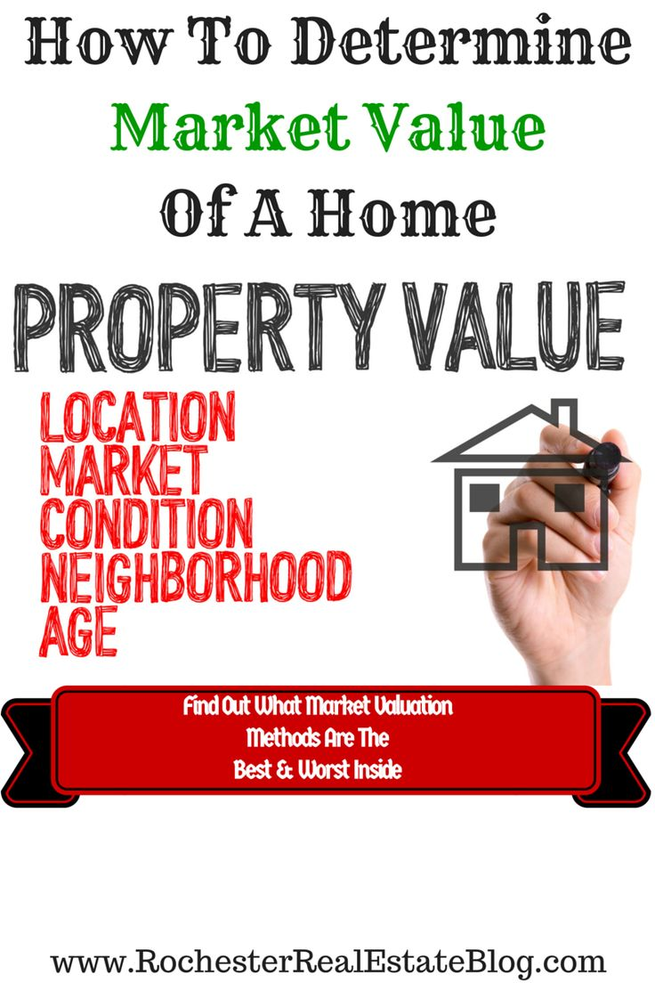 How To Determine Market Value Of A Home - http://www.rochesterrealestateblog.com/how-to-determine-the-market-value-of-a-home/ via @KyleHiscockRE
