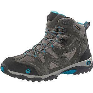 <title>Jack Wolfskin Rugged Hiker Trekkingschuhe Damen dunkelgrau/türkis im Online Shop von SportScheck kaufen</title>