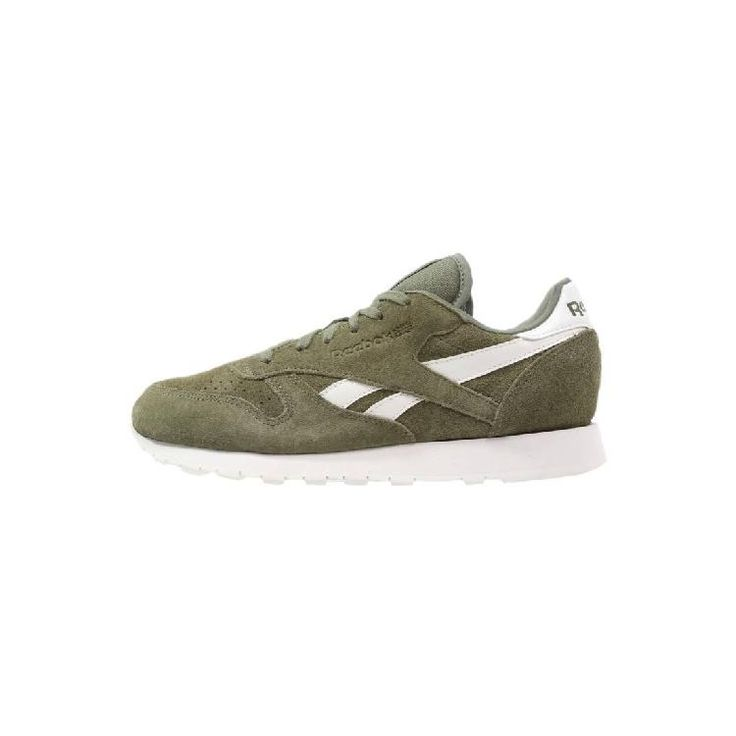 low priced a8564 3ec6d Find the freshest CLASSIC - Sneaker - canopy greenchalk by Reebok Classic  ...