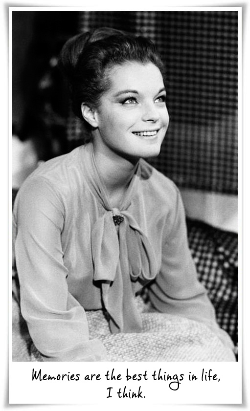 Romy Schneider. She was so beautiful and adorable in the movie Sissi