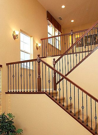 how to change out banister spindles
