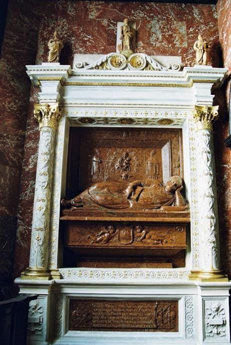 Nagrobek bp Gamrata 1545-47, Jan Maria Padovano