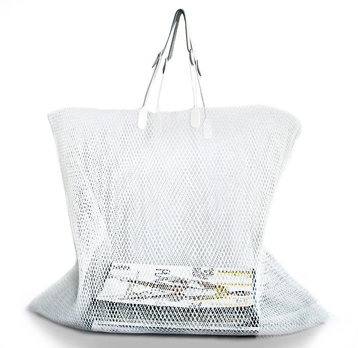 HELENA HEINZ taška Síťovka velká bílá