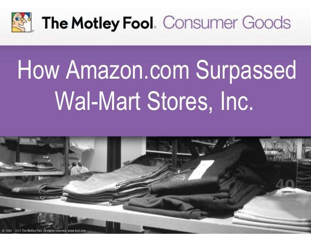 How Amazon.com Surpassed Wal-Mart Stores, Inc.