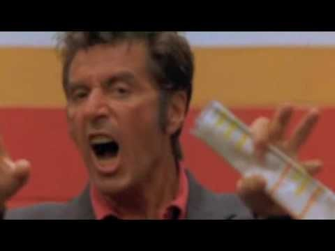 This is COMMITMENT!  Any Given Sunday Al Pacino Pre-Game Speech - YouTube
