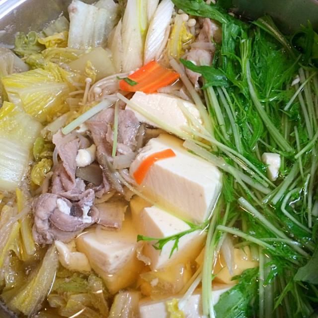 +雑穀米 - 10件のもぐもぐ - 豚肉と水菜のはりはり鍋 by karintou2525