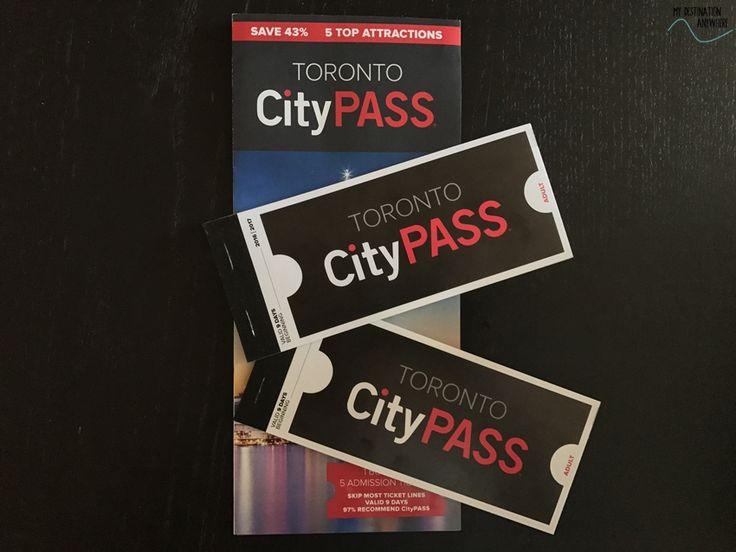 Toronto City Pass: Vale a Pena Comprar o Cartão Turístico de Toronto? http://mydestinationanywhere.com/2017/07/23/toronto-city-pass-vale-a-pena-comprar/