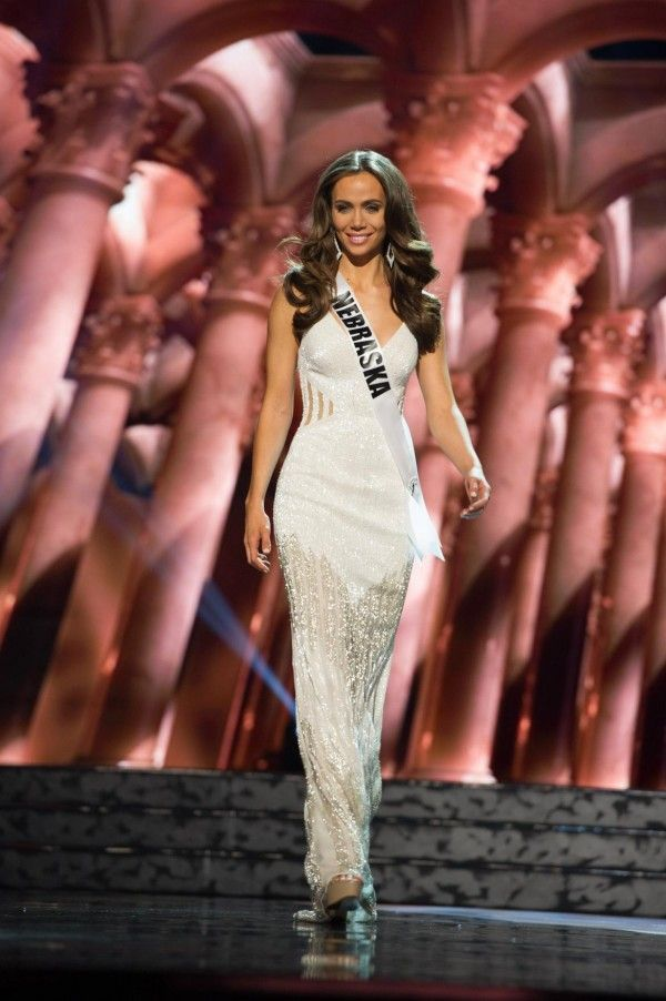 "Miss Nebraska USA 2016 - The dresses from the Miss USA 2016 preliminary were HIT, MISS and somewhere in between. While an evening gown alone will never win you the pageant the wrong evening gown choice certainly can cost you the crown. Due to the competitiveness of this year's Miss USA class the girls who land in the Top 10 will need to be bringing their ""ain't nobody standing between me and that crown"" game to every phase of competition"