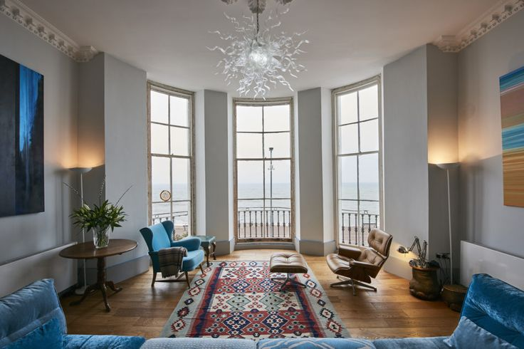 This incredible seafront apartment occupies the principal part of Adelaide House, a magnificent 19th century, Grade II listed building that was once the residence of Queen Adelaide, wife of King William IV. The two-bedroom property has been meticulously restored and reimagined in recent years by Nick Maes who has retained the grandeur of the original […]
